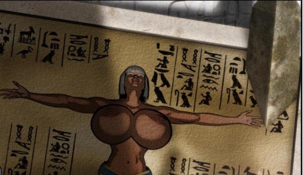 Queen Nefereni - hieroglyphics