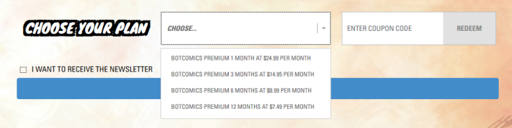 GC Subscription Plans