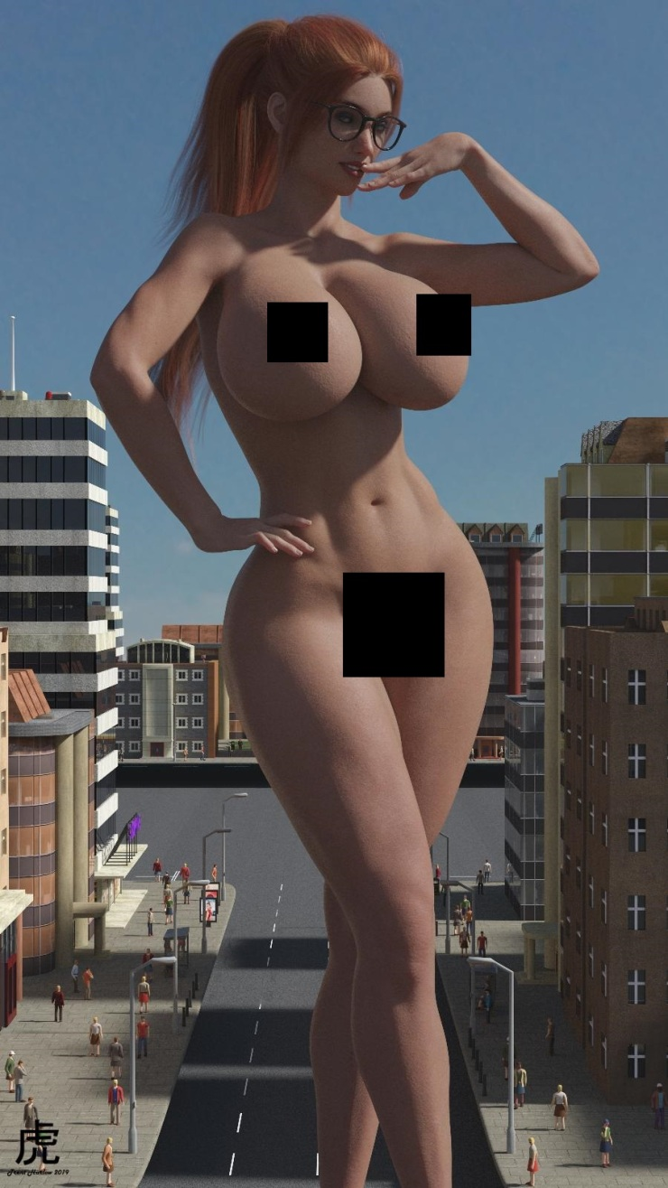 Censored Alyssa Comic Book Babe by Trent Harlow