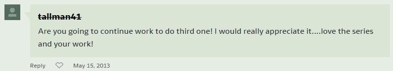 3 GTS 2 DA comment