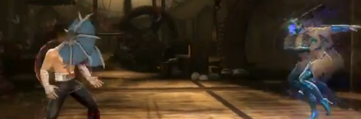 9 - Johnny Cage hit by Kitana in Mortal Kombat 9
