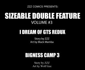 Sizeable Double Feature Vol 3 ToC