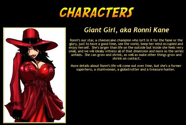 Giant girl_s bio taken from website on 5JUL20